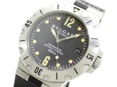 BVLGARI(ブルガリ) 腕時計 ディアゴノスクーバ SD38S メンズ 黒