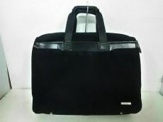 ACEGENE(エースジーン) ビジネスバッグ 黒 ナイロン×レザー
