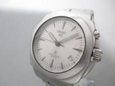 SEIKO(セイコー) 腕時計 5M42-0E50 メンズ シルバー