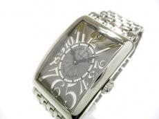 フランクミュラー 腕時計 ロングアイランド レリーフ レディース