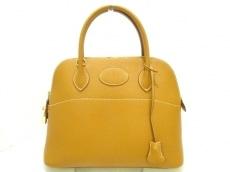 エルメス ハンドバッグ美品  ボリード31 ナチュラル ゴールド金具