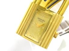 エルメス 腕時計 ケリーウォッチ - レディース 革ベルト/○V刻印