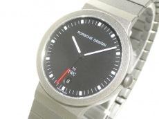 PORSCHE DESIGN(ポルシェデザイン) 腕時計 - メンズ IWC 黒