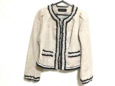 コトゥー ジャケット サイズ38 M レディース美品  ベージュ×黒