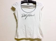 ディーアンドジー 半袖Tシャツ サイズS(USA) レディース 白×グレー