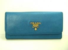 PRADA(プラダ) キーケース - 1M0223 ネイビー 6連フック レザー