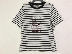 ミュベール 半袖Tシャツ サイズ38 M レディース 白×黒 ボーダー