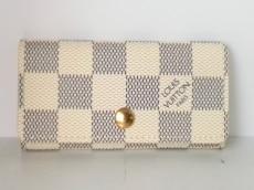 ルイヴィトン キーケース ダミエ美品  ミュルティクレ4 N60020