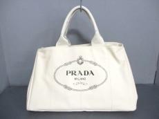 PRADA(プラダ) トートバッグ CANAPA BN1872 アイボリー キャンバス