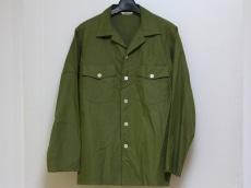 AURALEE(オーラリー) 長袖シャツ サイズ3 L メンズ カーキ