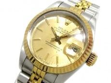 ロレックス 腕時計 デイトジャスト 69173 レディース ゴールド