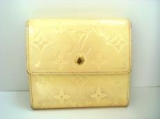 ルイヴィトン Wホック財布 モノグラムヴェルニ M91351 ペルル