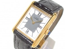 Cartier(カルティエ) 腕時計 マストタンクヴェルメイユ - レディース