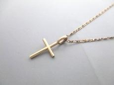 ete(エテ) ネックレス美品  シルバー ゴールド クロス