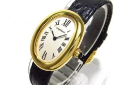 カルティエ 腕時計 ベニュワールSM W8000009 レディース アイボリー