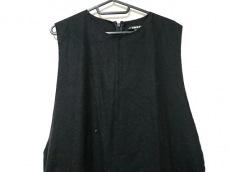 DKNY(ダナキャラン) ワンピース サイズ4 XL レディース美品  黒 変形