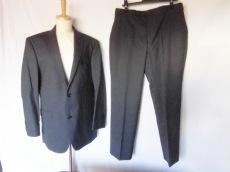 バーバリーブラックレーベル シングルスーツ サイズ42 L メンズ美品