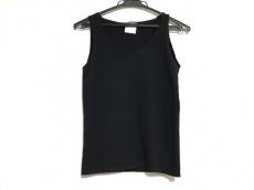 シャネル ノースリーブセーター サイズ36 S レディース美品  黒