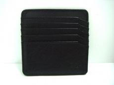 IBIZA(イビザ) カードケース 黒 レザー