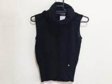 CHANEL(シャネル) ノースリーブセーター サイズ38 M レディース 黒