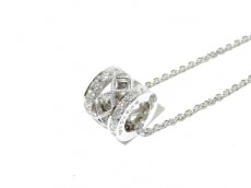 ミキモト ネックレス美品  K18WG×ダイヤモンド 0.28カラット