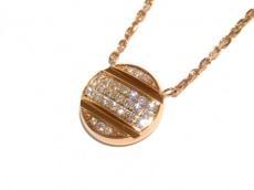 CHAUMET(ショーメ) ネックレス美品  クラスワン K18PG×ダイヤモンド