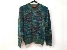 ミッソーニ 長袖セーター サイズ12 L レディース グリーン×マルチ