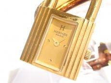 HERMES(エルメス) 腕時計 ケリーウォッチ - レディース 革ベルト/○Z