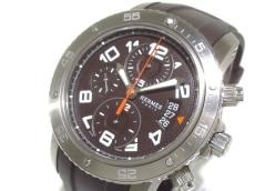 エルメス 腕時計 クリッパー メカニカル クロノグラフ マキシ メンズ