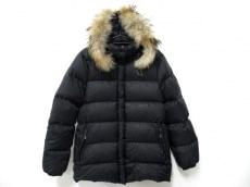 モンクレール ダウンジャケット サイズ0 XS レディース 黒 冬物