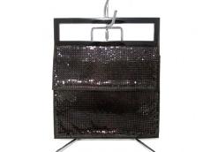 GUCCI(グッチ) ハンドバッグ美品  - - ダークブラウン 金属素材