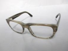 TOM FORD(トムフォード) メガネ TF5253 クリア×カーキ プラスチック