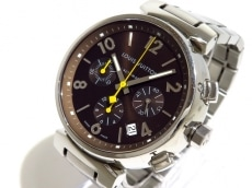 ヴィトン 腕時計美品  タンブールクロノグラフ Q1121 メンズ