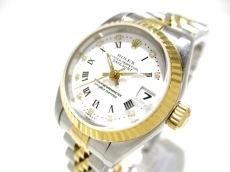 ROLEX(ロレックス) 腕時計 デイトジャスト 69173G レディース 白