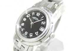 HERMES(エルメス) 腕時計 クリッパー CL4.210 レディース 黒