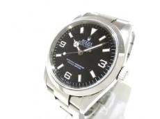 ROLEX(ロレックス) 腕時計 エクスプローラー1 114270 メンズ 黒