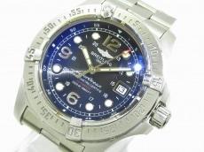 ブライトリング 腕時計美品  スーパーオーシャン A17390 メンズ