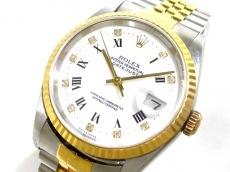 ROLEX(ロレックス) 腕時計 デイトジャスト 16233G メンズ 白