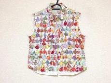 エルメス ノースリーブシャツブラウス サイズ40 M レディース美品