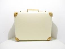 グローブトロッター トランクケース美品  白×ブラウン