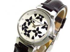 ヴィトン 腕時計 タンブール ラブリーダイヤモンド Q121I レディース
