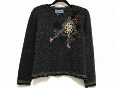 エムアンドキョウコ 長袖セーター サイズL レディース 刺繍