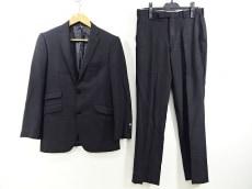バーバリーブラックレーベル シングルスーツ サイズ38R メンズ 黒