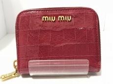 miumiu(ミュウミュウ) コインケース美品  - 5M0268 ピンク
