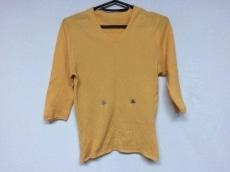 CHANEL(シャネル) 半袖セーター レディース美品  オレンジ