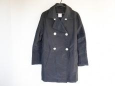 LOEWE(ロエベ) コート サイズ40 M レディース 黒 シルク/春・秋物