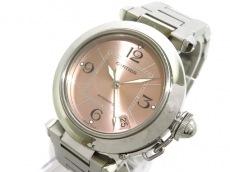 カルティエ 腕時計 パシャCスモールデイト W31075M7 ボーイズ SS