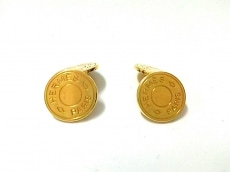 HERMES(エルメス) カフス美品  セリエ 金属素材 ゴールド