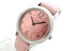 CELINE(セリーヌ) 腕時計 - レディース 革ベルト ピンクゴールド