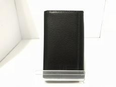 ダンヒル キーケース美品  黒 6連フック レザー
